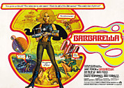 Jbp10ma14 Prints - Barbarella, Jane Fonda, 1968 Print by Everett