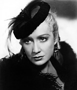 Feathered Hat Framed Prints - Barbary Coast, Miriam Hopkins, 1935 Framed Print by Everett