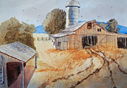 Shed Originals - Barn in the Valley by Barry Jones