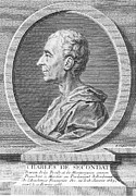 Enlightenment Prints - Baron De Montesquieu Print by Granger