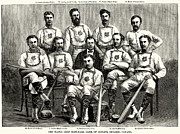 1874 Photo Prints - Baseball: Canada, 1874 Print by Granger