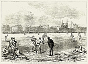 1874 Photo Metal Prints - Baseball: England, 1874 Metal Print by Granger