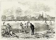 Baseball: England, 1874 Print by Granger