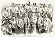 Baseball Player Framed Prints - Baseball Teams, 1866 Framed Print by Granger