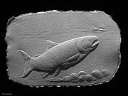 Fish Reliefs - Bass Fish by Suhas Tavkar