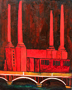 London Print Originals - Battersea Power Station by Artur Sula