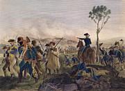 Battle Of Bennington, 1777 Print by Granger