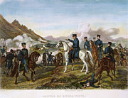 Latin American Prints - Battle Of Buena Vista, 1847 Print by Granger