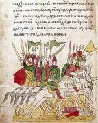 Manuscript Illumination Prints - Battle Of Kulikovo, 1380 Print by Granger