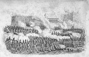 U.s. Army Prints - Battle Of Monterrey, 1846 Print by Granger