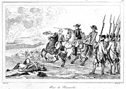 Bayonet Prints - Battle Of Pensacola, 1781 Print by Granger