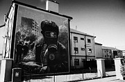 Irish Artists Framed Prints - Battle Of The Bogside Mural Derry Framed Print by Joe Fox
