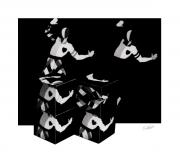 Ballet Dancers Photo Prints - Bauhause Ballet  Print by Charles Stuart