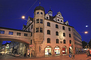 Munchen Prints - Bavaria Munich at night  Print by Amit Strauss