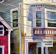 Bistro Paintings - Bayside Bistro by Kristin Stashenko