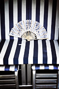 Fans Prints - Beach Chair Print by Joana Kruse