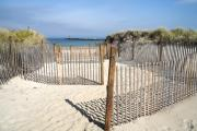 Sesuit Harbor Prints - Beach Entry on Cape Cod Print by William Kuta