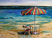 Diane Kraudelt Art - Beach Heaven 3 by Diane Kraudelt
