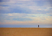 Titled Art Slide Show - Beach Jogger by Chuck Staley