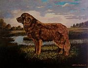 Saving Paintings - Beautiful bear-like friend. by Alan Carlson
