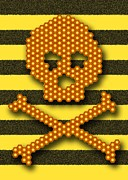 Deaths Head Photos - Bee Colony Collapse Disorder, Artwork by Stephen Wood