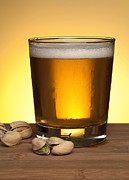 Beer In Glass Print by Blink Images