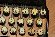 Typewriter Keys Prints - Before Microsoft Word Print by Carl Purcell