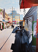 - Occupy Beijing Paintings - Beijing Alley by Jason Thrun