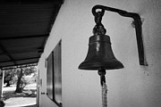 Pull Posters - bell outside a small historic typical farm in Colonia Del Sacramento Uruguay South America Poster by Joe Fox