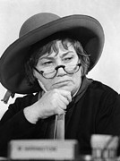Lawyer Prints - Bella Abzug (1920-1998) Print by Granger