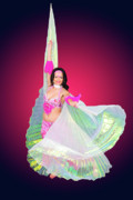 Dancer Art Photo Posters - Belly dancer  Poster by Ilan Rosen