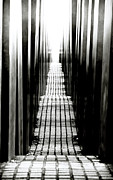 Old Berlin Prints - Berlin Holocaust Memorial Print by John Rizzuto