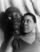 Woman Head Photograph Prints - Bessie Smith (1894-1937) Print by Granger