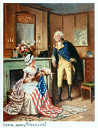 Percy Framed Prints - Betsy Ross (1752-1836) Framed Print by Granger