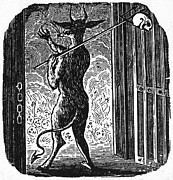 Bewick Photo Prints - Bewick: Devil Print by Granger