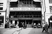 Capitals Prints - Bewleys Oriental Cafe In Grafton Street In Dublin Ireland Print by Joe Fox