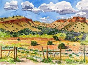 Pinion Paintings - Beyond Ojo Caliente by Gurukirn Khalsa
