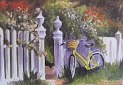 Melinda Saminski - Bicycle on Fence