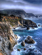 Storm Clouds Framed Prints - Big Sur Framed Print by Anthony Citro