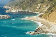 Sightsee Prints - Big Sur Coastline Print by Quincy Dein - Printscapes