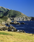 Oceanic View Prints - Big-sur-t1-3 Print by Craig Lovell