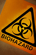 Label Prints - Biohazard Symbol Print by Tim Vernon, Nhs Trust