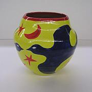 Vase Ceramics - Birds by Chris Mackie