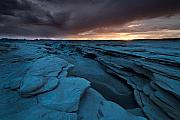 Nature Park Prints - Bisti Fissure New Mexico Print by Steve Gadomski