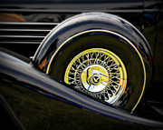 Car Detail Prints - Black Classic Print by Perry Webster
