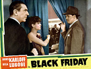 Lugosi Photos - Black Friday, Bela Lugosi, Anne Nagel by Everett