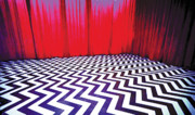 Dale Cooper Metal Prints - Black Lodge Metal Print by Luis Ludzska