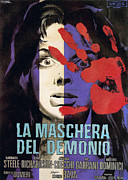 1960s Movies Posters - Black Sunday, Aka La Maschera Del Poster by Everett