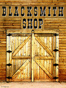 Ledge Framed Prints - Blacksmith Shop Framed Print by Cristophers Dream Artistry
