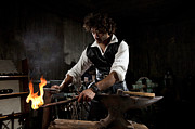 Blacksmiths Photos - Blacksmith  by Yedidya yos mizrachi
